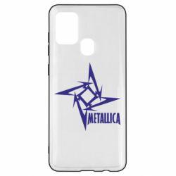 Чохол для Samsung A21s Логотип Metallica