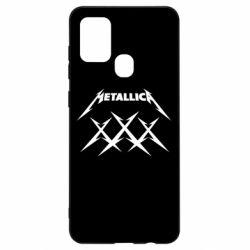 Чохол для Samsung A21s Metallica XXX