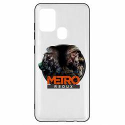 Чехол для Samsung A21s Metro: Redux