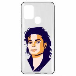 Чохол для Samsung A21s Michael Jackson Graphics Cubism