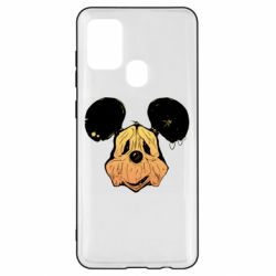 Чехол для Samsung A21s Mickey mouse is old