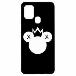 Чохол для Samsung A21s Mickey with a crown
