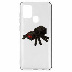 Чохол для Samsung A21s Minecraft spider