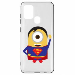 Чохол для Samsung A21s Minion Superman
