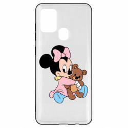 Чохол для Samsung A21s Minnie And Bear