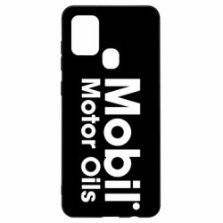 Чехол для Samsung A21s Mobil Motor Oils