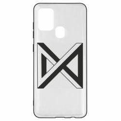 Чохол для Samsung A21s Monsta x simbol