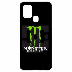 Чохол для Samsung A21s Monster Energy DC