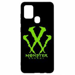 Чехол для Samsung A21s Monster Energy W