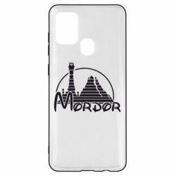 Чехол для Samsung A21s Mordor (Властелин Колец)