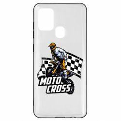 Чехол для Samsung A21s Motocross