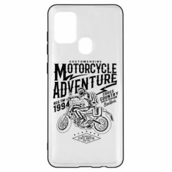 Чехол для Samsung A21s Motorcycle Adventure