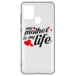 Чохол для Samsung A21s Моя мати -  моє життя