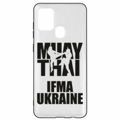 Чехол для Samsung A21s Muay Thai IFMA Ukraine