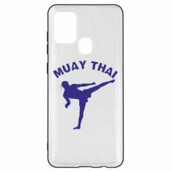 Чохол для Samsung A21s Muay Thai
