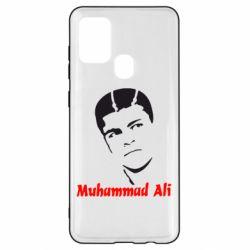 Чехол для Samsung A21s Muhammad Ali