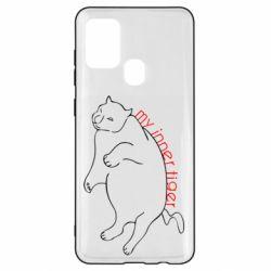 Чохол для Samsung A21s My inner tiger