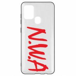 Чехол для Samsung A21s N.W.A Logo