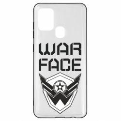 Чохол для Samsung A21s Напис Warface