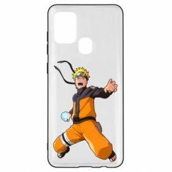 Чохол для Samsung A21s Naruto rasengan