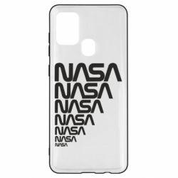 Чехол для Samsung A21s NASA