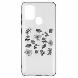 Чохол для Samsung A21s Наскальний Живопис