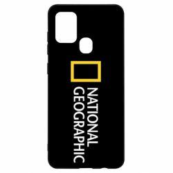 Чехол для Samsung A21s National Geographic logo