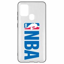 Чехол для Samsung A21s NBA Logo