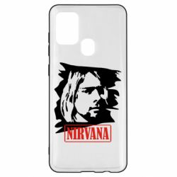 Чехол для Samsung A21s Nirvana Kurt Cobian