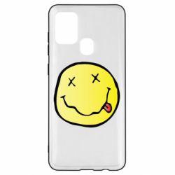 Чохол для Samsung A21s Nirvana Logo 3D