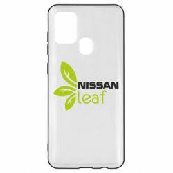 Чехол для Samsung A21s Nissa Leaf