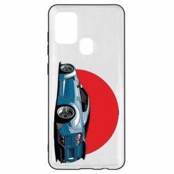 Чехол для Samsung A21s Nissan GR-R Japan