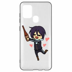 Чохол для Samsung A21s Noragami and drink