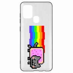 Чохол для Samsung A21s Nyan cat