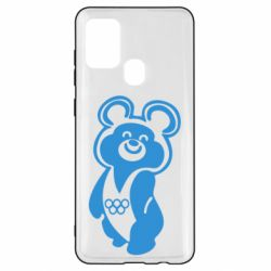 Чохол для Samsung A21s Олімпійський Ведмедик
