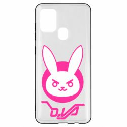 Чехол для Samsung A21s Overwatch dva rabbit