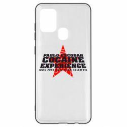 Чехол для Samsung A21s Pablo Escobar