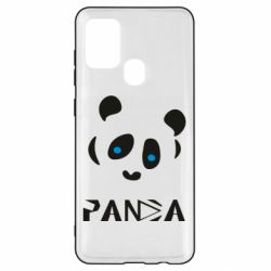 Чохол для Samsung A21s Panda blue eyes