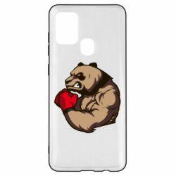 Чехол для Samsung A21s Panda Boxing