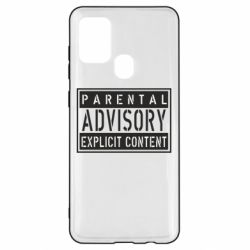 Чохол для Samsung A21s Parental Advisory