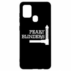 Чохол для Samsung A21s Peaky Blinders and weapon