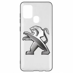 Чохол для Samsung A21s Peugeot Logo