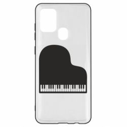 Чохол для Samsung A21s Piano in the heart