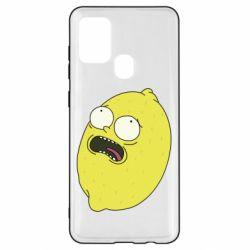 Чохол для Samsung A21s Pickle Rick Sanchez
