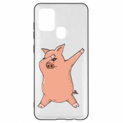 Чохол для Samsung A21s Pig dab