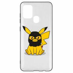 Чохол для Samsung A21s Pikachu in balaclava
