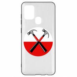 Чохол для Samsung A21s Pink Floyd Main Logo