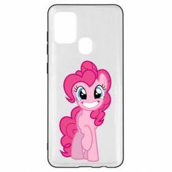 Чехол для Samsung A21s Pinkie Pie smile