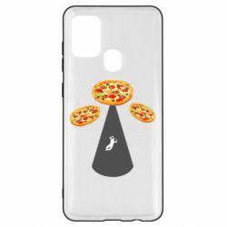 Чохол для Samsung A21s Pizza UFO