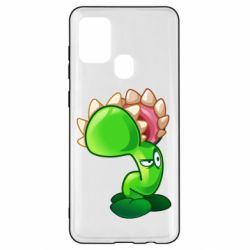 Чохол для Samsung A21s Plants flower